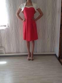 Продаю итальянское атласное платье-коктейль на выход, в Грозном
