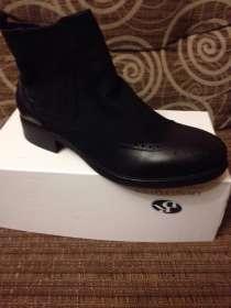 Продам новые зимние ботинки кожа размер -42-43, в г.Ивантеевка