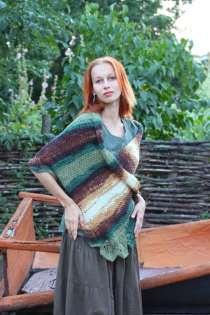 шарф шаль палантин пончо трансформер ручная работа, в Саратове