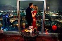 Романтический вечер для двоих в Москва сити, в Москве