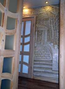Оформление стен, декоративная штукатурка (рельеф), в Балаково