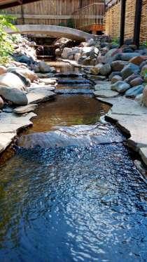 Водоемы, ручьи и водопады на вашем участке, в Красноярске