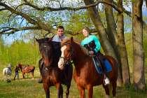 Романтическая конная прогулка, в Нижнем Новгороде