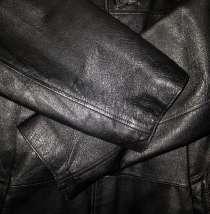 Продам мужской чёрный кожаный плащ 48р-р, в г.Минск