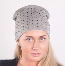 Женская трикотажная шапка мод. 442, в Москве