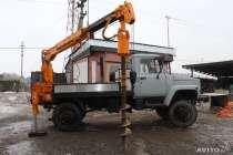 Ямобур ГАЗ 33081 (садко), БКМ-302, Isuzu, Урал, в Москве