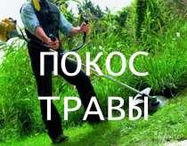 Покос травы, в Белгороде