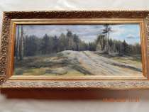 Картина Н / Х холст масло  конец 19 начало 20 века, в Москве