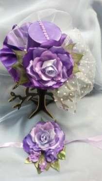 Цветы из ткани и лент, в Мытищи