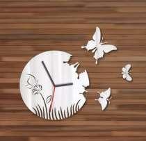 Настенные часы с бабочками, в Кемерове