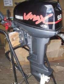 Продам отличный лодочный мотор YAMAHA 9,9, нога S (381мм), в Владивостоке