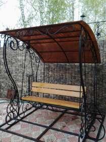 кованные качели, в Томске