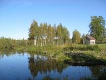 новый дом на 140 сотках на озере, в Санкт-Петербурге