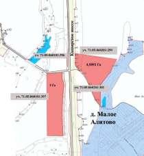 Участки на федеральной трассе М-4 с собственными съездами, в Туле