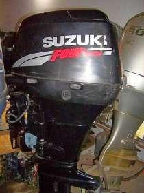 Продам лодочный мотор SUZUKI DF50 , нога короткая S , в Владивостоке