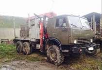 Камаз 4310 Лесовоз с крановой установкой, в Ангарске