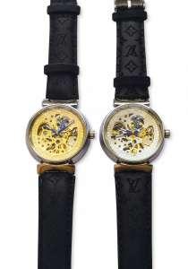 Наручные часы скелетоны Louis Vuitton, в Комсомольске-на-Амуре