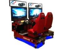 Автогонки симулятор. Развлекательный автомат, в Сочи