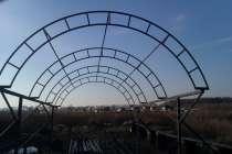 Навес из поликарбоната для автомобиля, в Архангельске