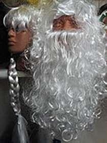 Борода деда Мороза, в Новосибирске