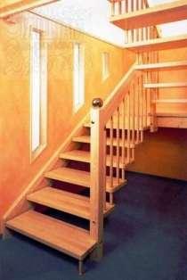 Принимаем заказы на изготовление и монтаж деревянных лестниц, в Челябинске
