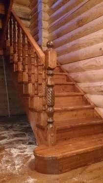 Лестницы из массива дерева, в Раменское