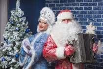 Дед Мороз и Снегурочка на дом Москва, в Москве