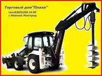 Аренда, услуги ямобура на базе экскаватора-погрузчика JCB., в Нижнем Новгороде