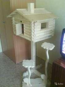 Домик для кота - избушка на курьих ножках, в Красноярске