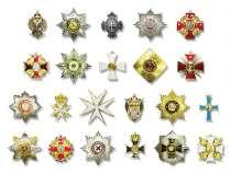Продается коллекция копий орденов Российской Империи, в Орле