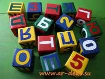 Мягкие игровые кубики , в Новосибирске