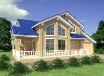 Строительство деревянного дома из бруса РАНЧО от МОГУТА, в Нижнем Новгороде