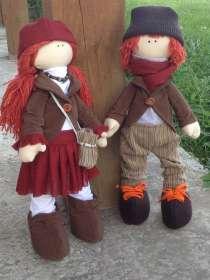 Интерьерная кукла ручной работы-оригинальный подарок, в Новосибирске