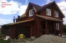 Профессиональное строительство загородных домов из дерева, в Пензе