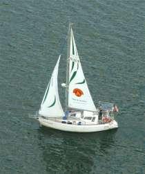 Яхта морская - крейсерский швертбот PEGAZ 969, в г.Самара