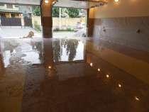 Пол бетонно-мозаичный,пол из мраморной крошки,полимерный пол, в Тюмени