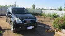 Продам автомобиль SsangYong Rexton чёрный внедорожни, в Балаково