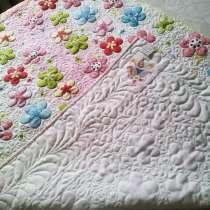Летнее одеяло-покрывало для девочки (hand made), в г.Каскелен