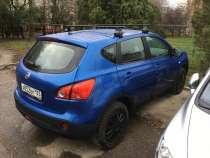 Кроссовер синего цвета с доп. Багажником на крыше, в Краснодаре
