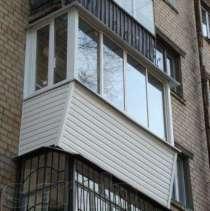 Остекление пвх, алюм, отделка балконов, Окна двери, в Балашихе