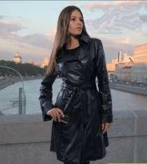 Продаю плащ экокожа чёрный 48 р, в Нижнем Новгороде