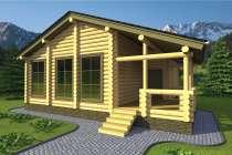 Деревянный домик из бревна от компании МОГУТА Горная Сказка, в Нижнем Новгороде