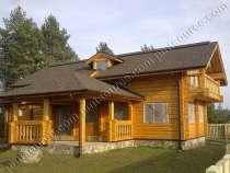 Дом ручной рубки по норвежской технологии, в Москве