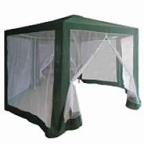 Тент-шатер с москитной сеткой синий, в Воронеже