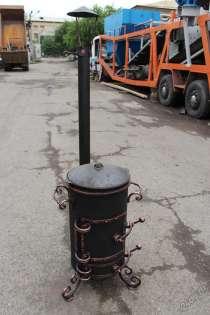 Печь под казан с трубой, в Красноярске