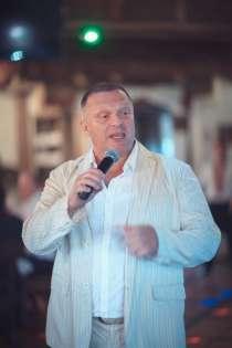 Поющий ведущий на юбилей, тамада на свадьбу, баянист., в Москве