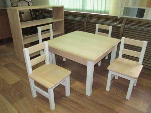 Детская мебель из натурального массива дерева на заказ