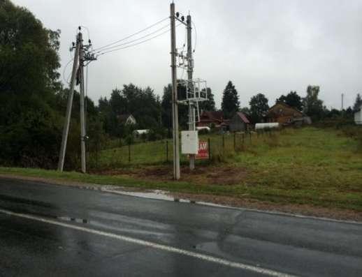 Продается земельный участок 10 соток в дер. Аникино (вблизи ж/д станции Шаликово)86 км от МКАД по Минскому шоссе.