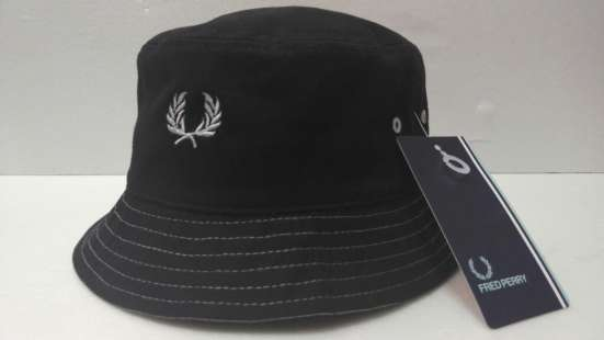 Панама Fred Perry (black white)