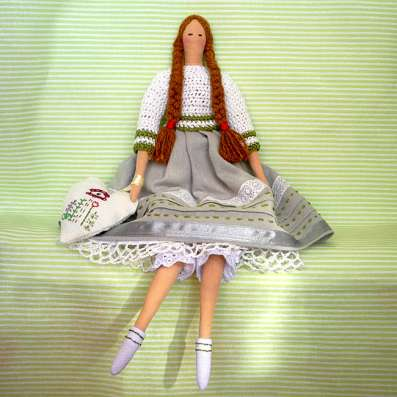 "Кукла Тильда ""Девочка с севера"""